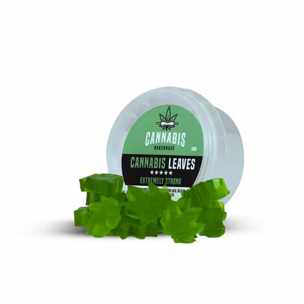 Cannabis Leaves Candy