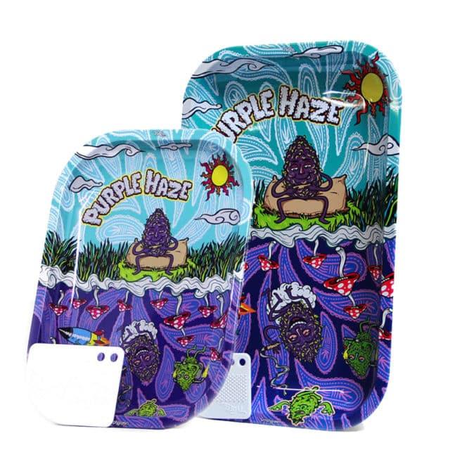 Purple Haze Rolling Tray
