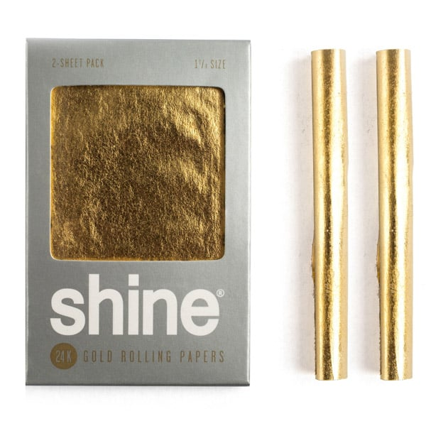 24kgold smoking papers 2pack